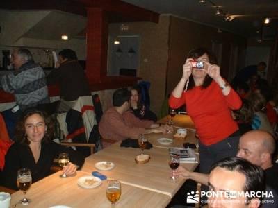 Esquí Baqueira - tertulia entre amigos; excursiones en el dia